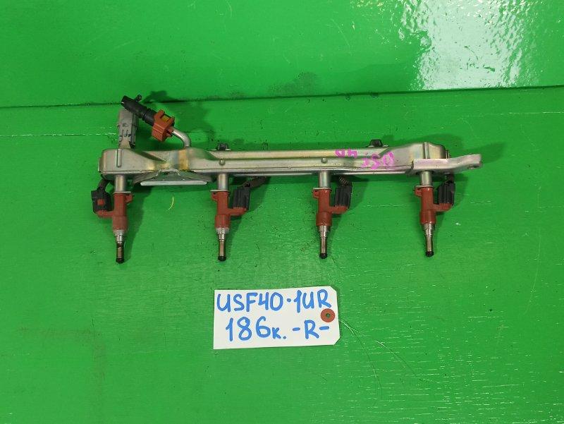 Рейка топливная Lexus Ls460 USF40 1UR правая (б/у)