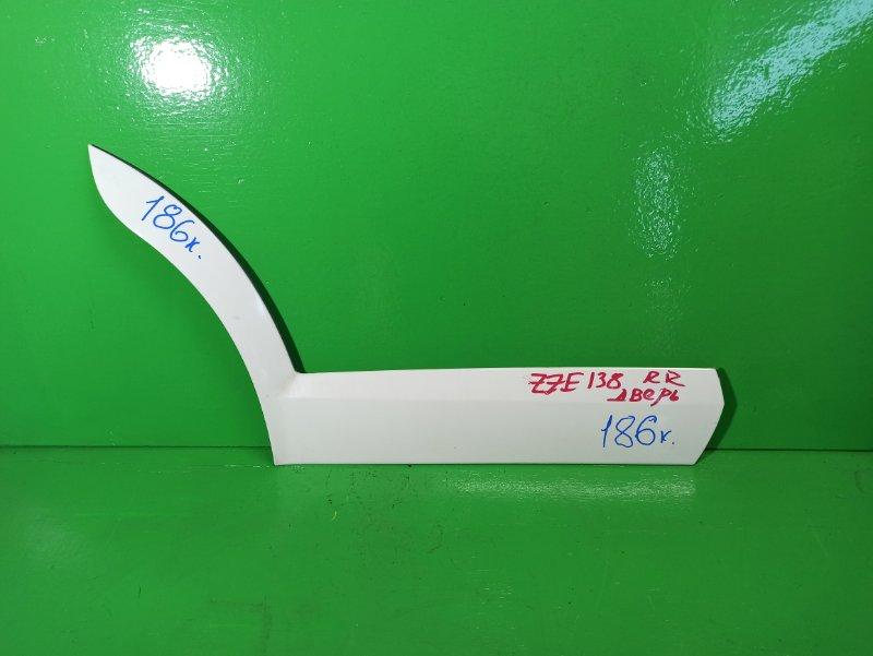 Накладка на дверь Toyota Voltz ZZE138 задняя правая (б/у)