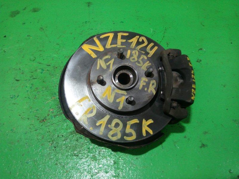 Ступица Toyota Runx NZE124 передняя правая (б/у) №1