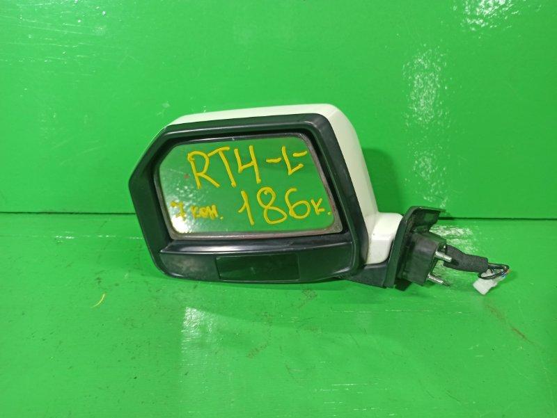 Зеркало Honda Crossroad RT4 левое (б/у)