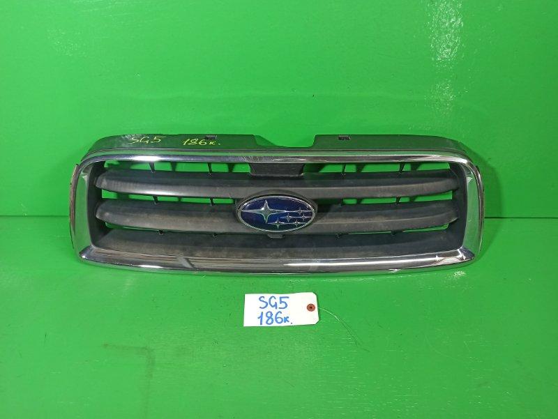 Решетка радиатора Subaru Forester SG5 (б/у)