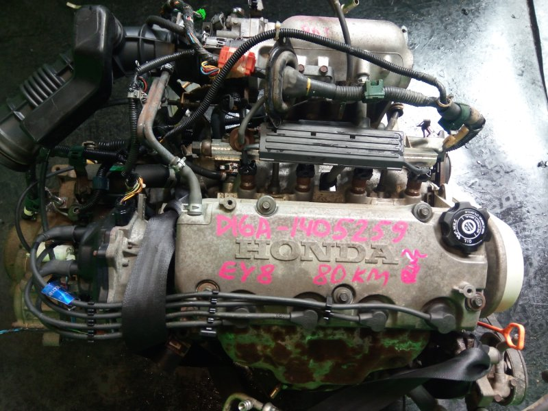 Двигатель Honda Partner EY8 D16A (б/у)