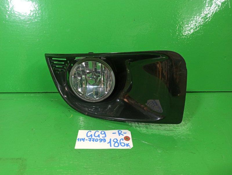 Туманка Subaru Impreza GG9 правая (б/у)