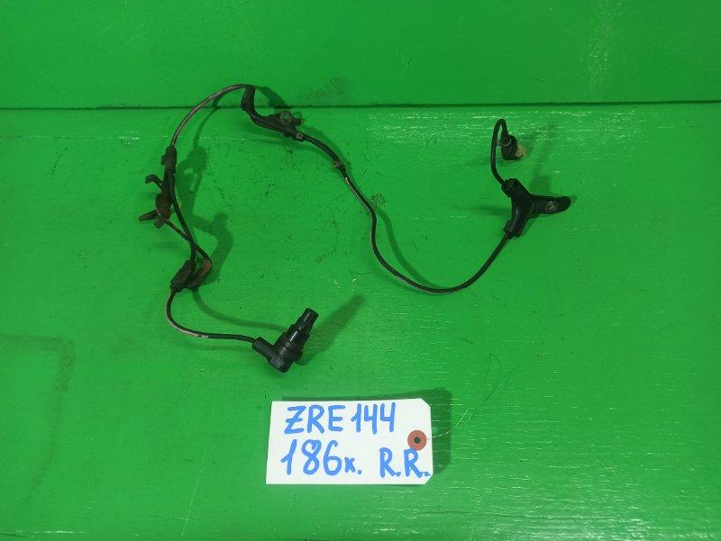 Датчик abs Toyota Fielder ZRE144 задний правый (б/у)