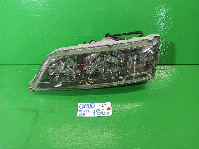 Фара Toyota Mark Ii GX100 левая (б/у)
