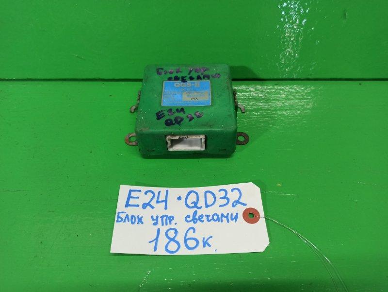 Блок управления Nissan Caravan E24 QD32 (б/у)
