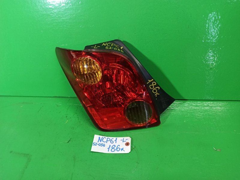 Стоп-сигнал Toyota Ist NCP61 левый (б/у)