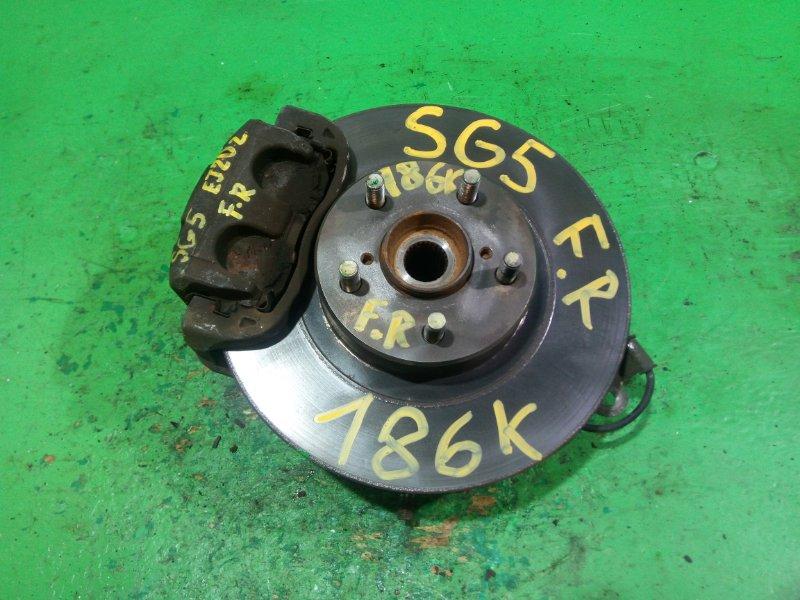 Ступица Subaru Forester SG5 передняя правая (б/у)