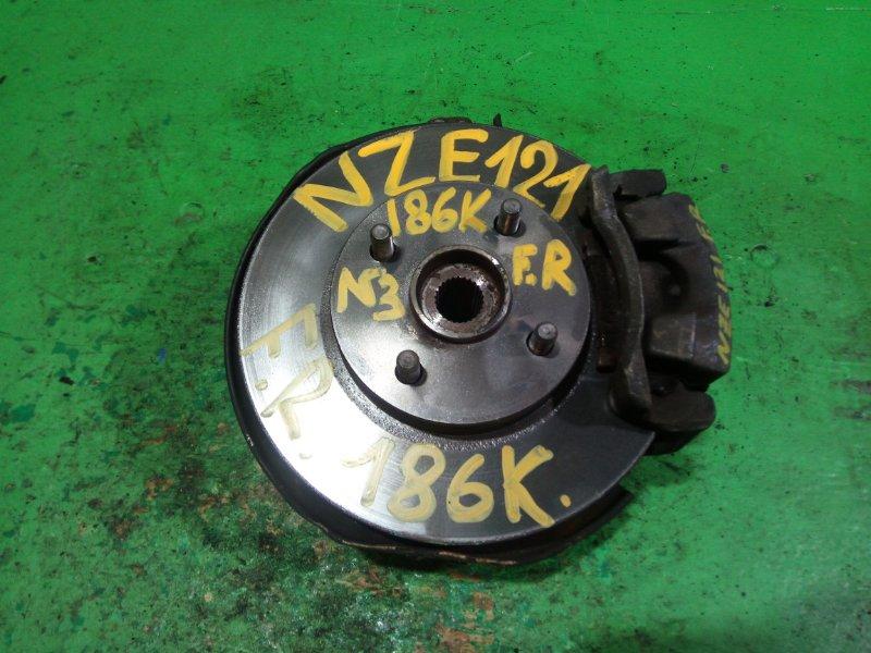 Ступица Toyota Spacio NZE121 передняя правая (б/у) №3