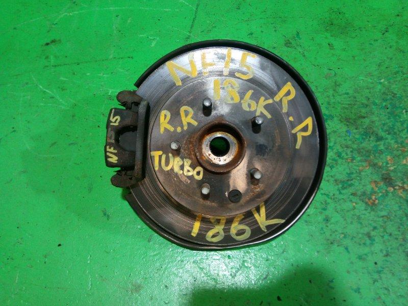 Ступица Nissan Juke NF15 задняя правая (б/у)