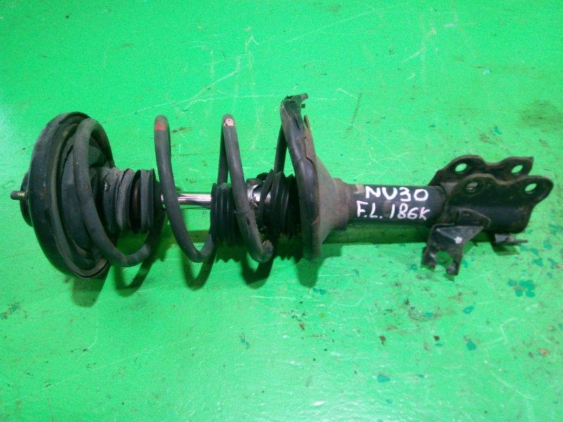 Стойка Nissan Presage U30 передняя левая (б/у)