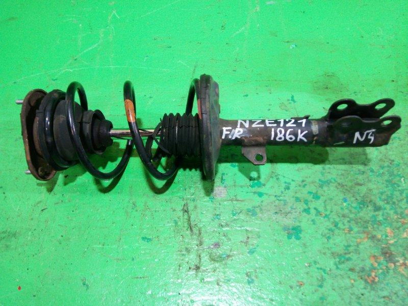 Стойка Toyota Corolla Runx NZE121 передняя правая (б/у) №4