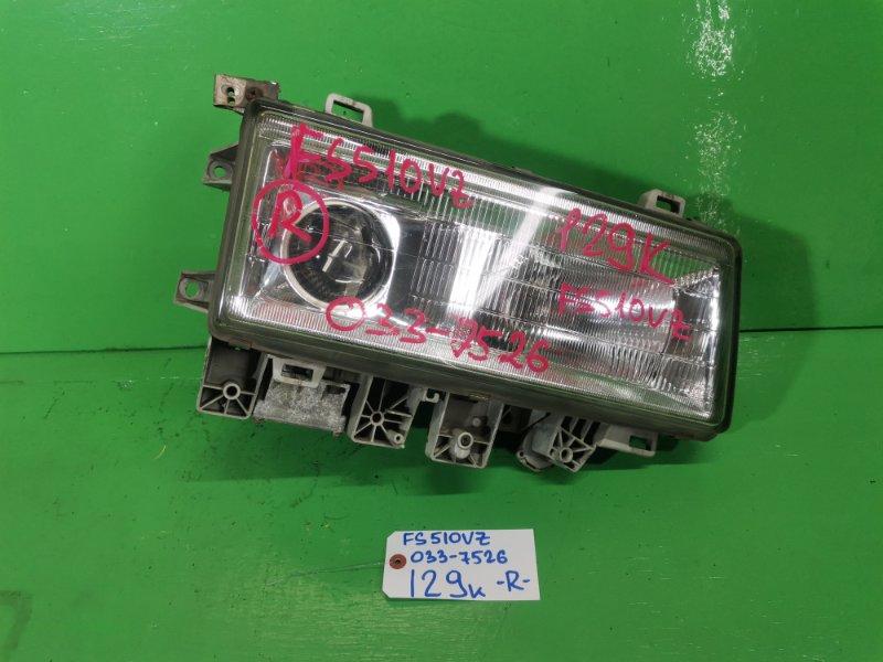 Фара Mitsubishi Fuso FS510VZ правая (б/у)