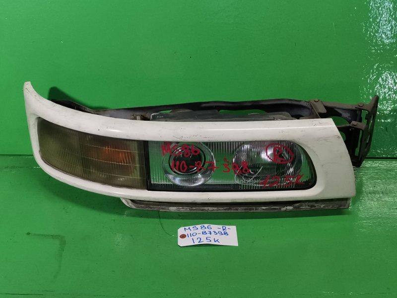 Фара Mitsubishi Fuso Aero Bus MS86 правая (б/у)