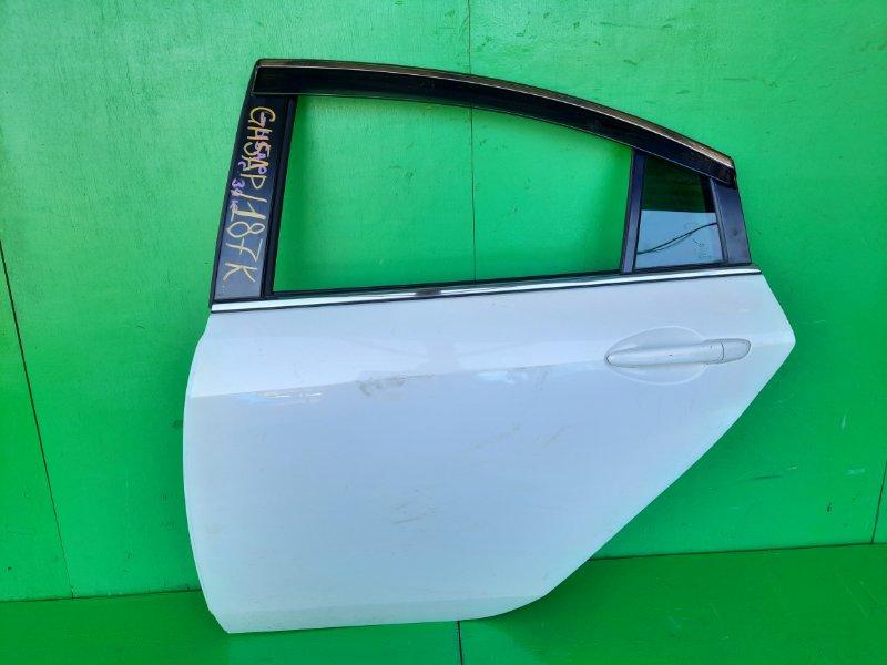 Дверь Mazda Atenza GH5AP задняя левая (б/у)