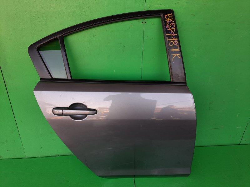 Дверь Mazda Axela BK5P задняя правая (б/у)