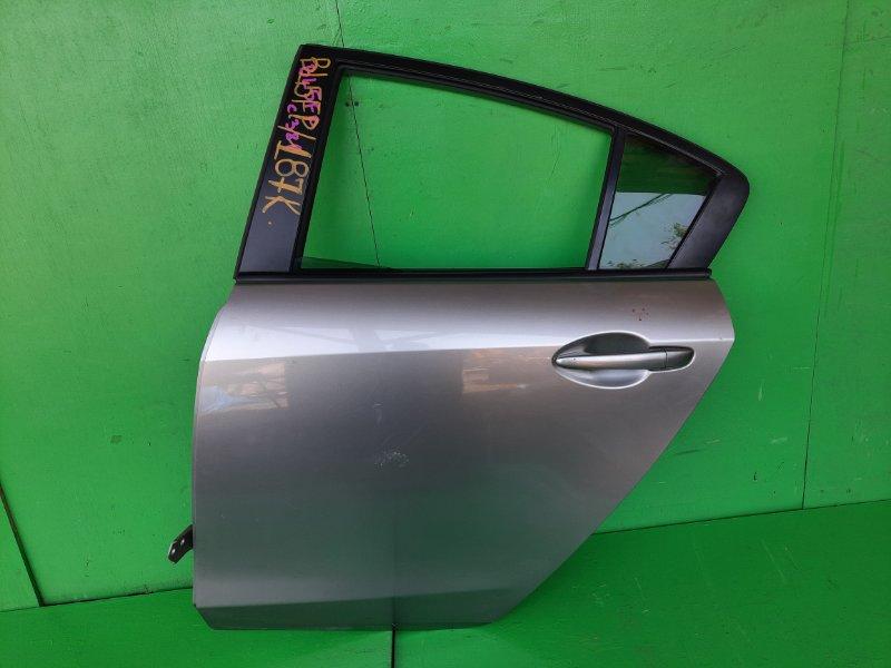 Дверь Mazda Axela BL5FP задняя левая (б/у)