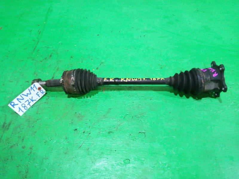 Привод Nissan Avenir W11 передний правый (б/у)