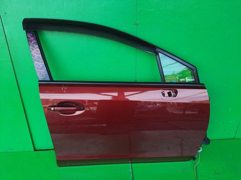 Дверь Subaru Xv GP7 передняя правая (б/у)