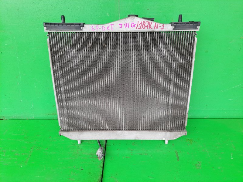 Радиатор основной Daihatsu Terios J111G EF-DET (б/у) №1