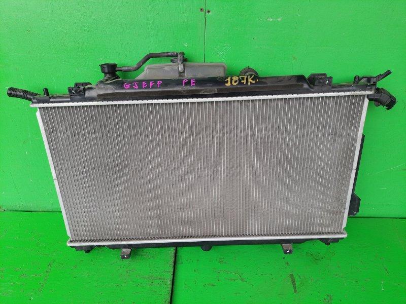 Радиатор основной Mazda Atenza GJEFP PE (б/у)