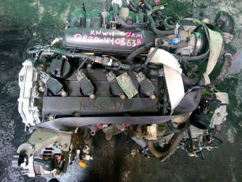 Двигатель Nissan Avenir RNW11 QR20-DE (б/у)