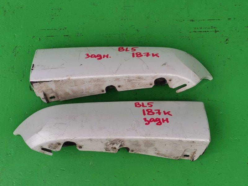 Накладка на бампер Subaru Legacy BL5 задняя (б/у)