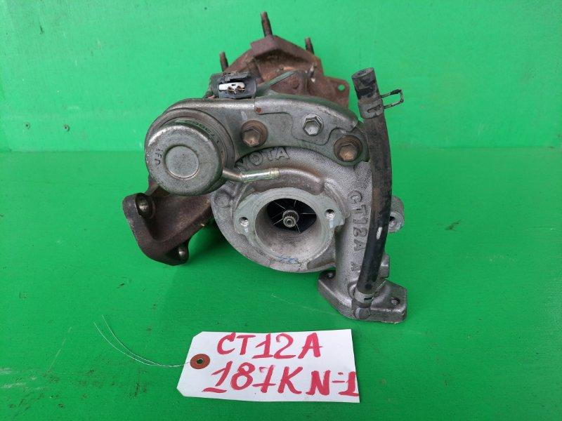 Турбина Toyota Mark Ii JZX90 1JZ-GTE (б/у) №1