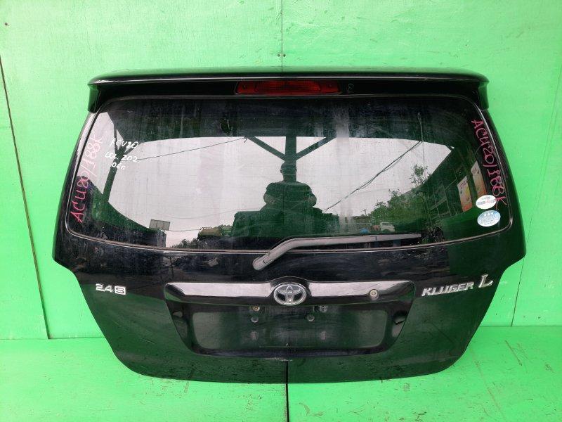 Дверь задняя Toyota Kluger ACU20 2006 (б/у)