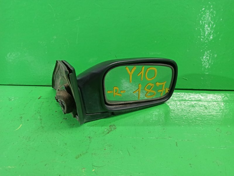 Зеркало Nissan Wingroad Y10 правое (б/у)
