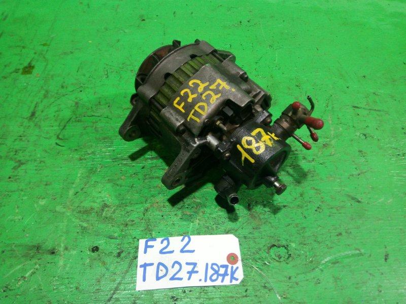 Генератор Nissan Atlas F22 TD27 (б/у)