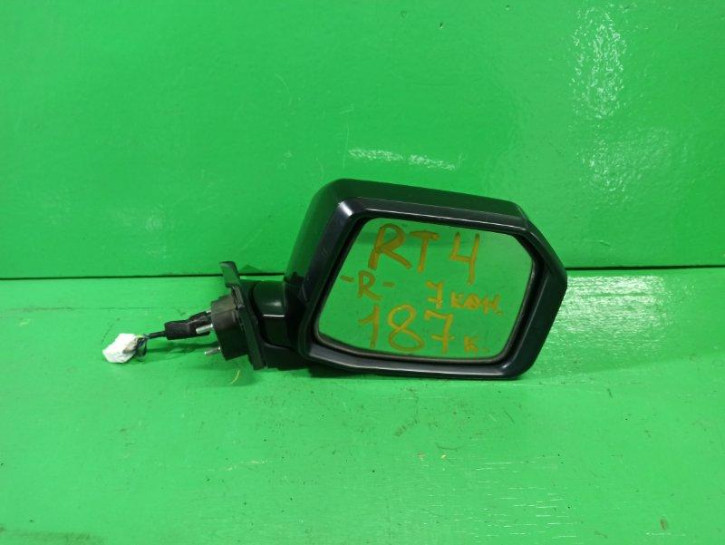 Зеркало Honda Crossroad RT4 правое (б/у)