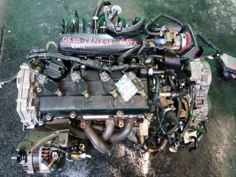 Двигатель Nissan Avenir W11 QR20-DE (б/у)