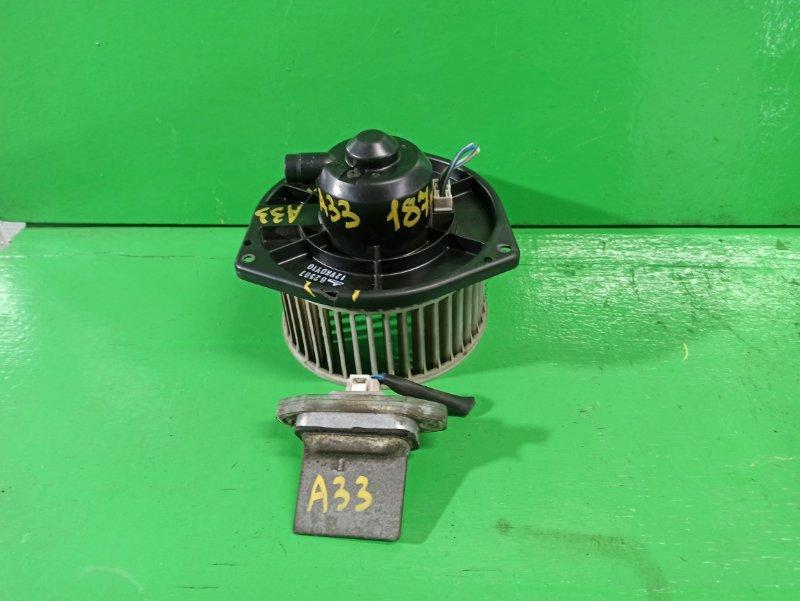 Мотор печки Nissan Cefiro A33 (б/у)