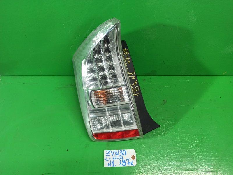 Стоп-сигнал Toyota Prius ZVW30 левый (б/у) №1