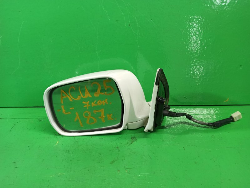 Зеркало Toyota Kluger ACU25 левое (б/у)
