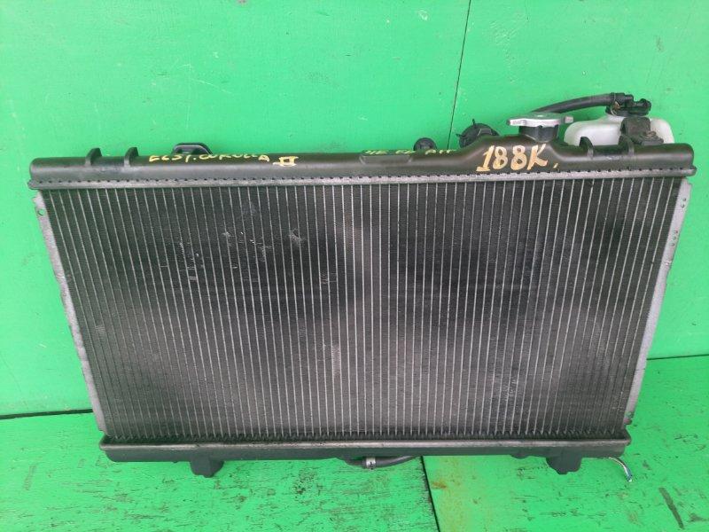 Радиатор основной Toyota Corolla Ii EL51 4E-FE (б/у)