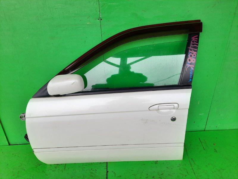 Дверь Nissan Avenir W11 передняя левая (б/у)