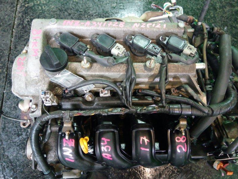 Двигатель Toyota Spacio NZE121 1NZ-FE 2001 (б/у)