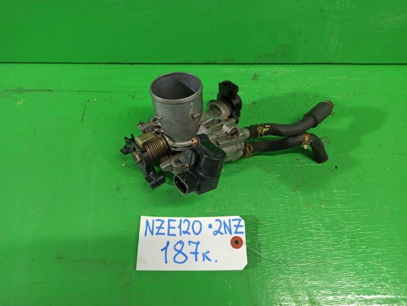 Дроссельная заслонка Toyota Corolla NZE120 2NZ-FE (б/у)