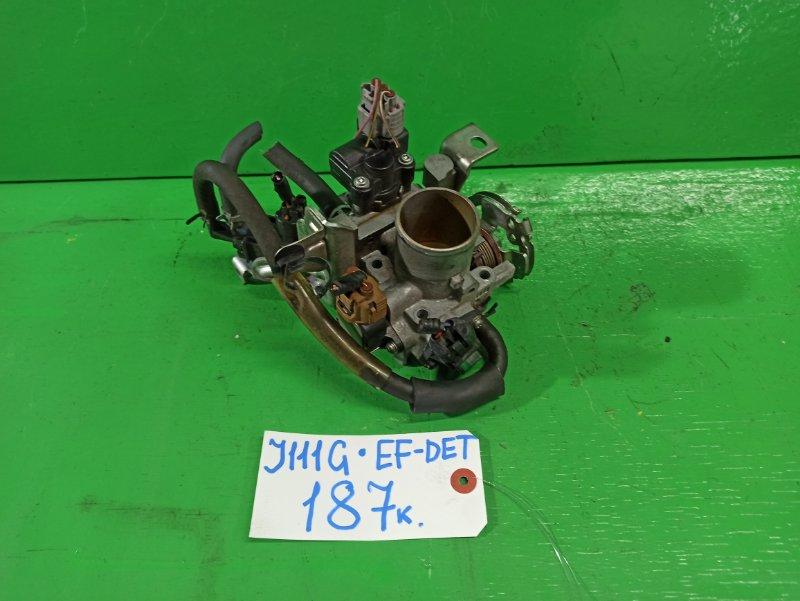 Дроссельная заслонка Daihatsu Terios J111G EF-DET (б/у)