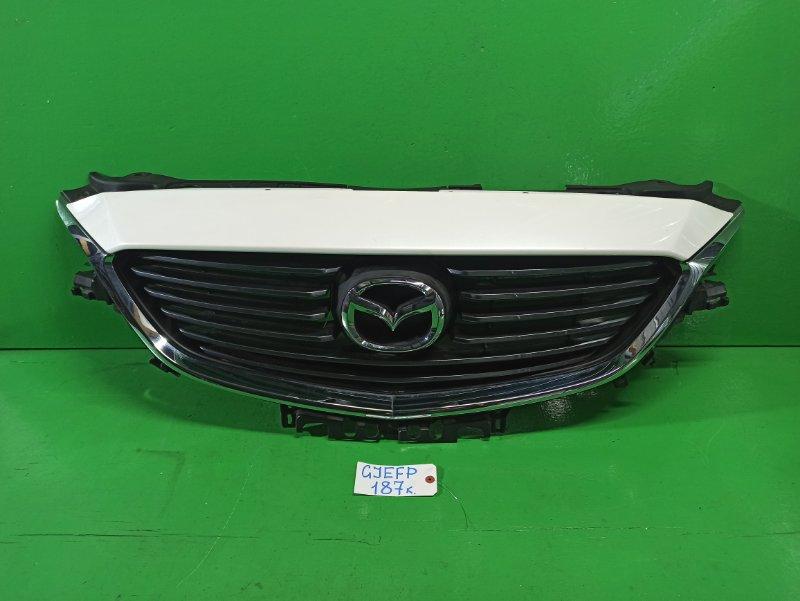 Решетка радиатора Mazda Atenza GJEFP (б/у)