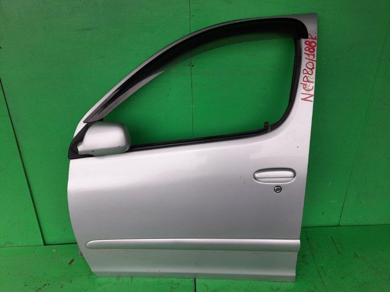 Дверь Toyota Funcargo NCP20 передняя левая (б/у)