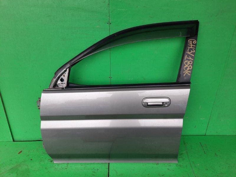 Дверь Honda Hrv GH3 передняя левая (б/у)