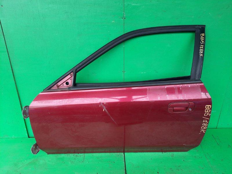 Дверь Honda Prelude BB5 передняя левая (б/у)