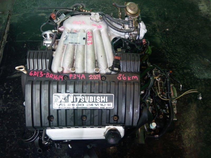 Двигатель Mitsubishi Diamante F34A 6A13 2004 (б/у)
