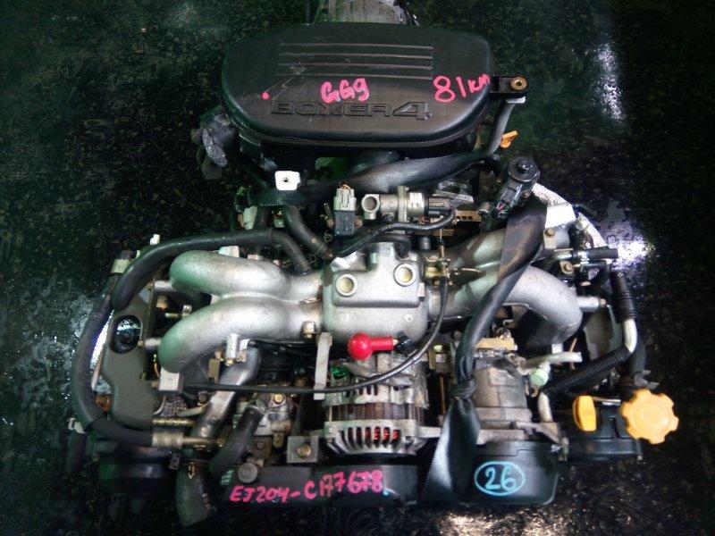 Двигатель Subaru Impreza GG9 EJ204 2004 (б/у)