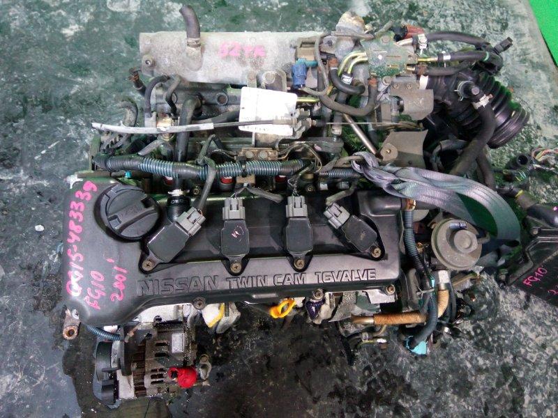 Двигатель Nissan Bluebird FG10 QG15-DE 2001 (б/у)