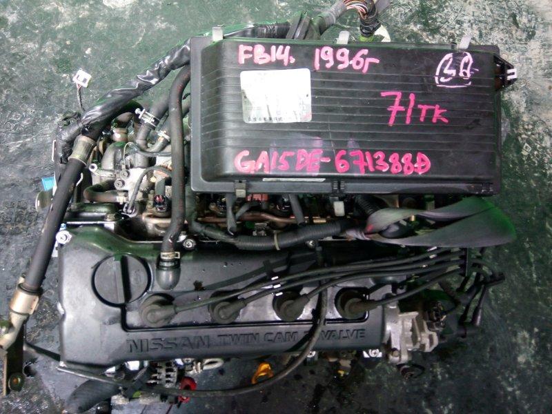 Двигатель Nissan Sunny FB14 GA15-DE 1996 (б/у)