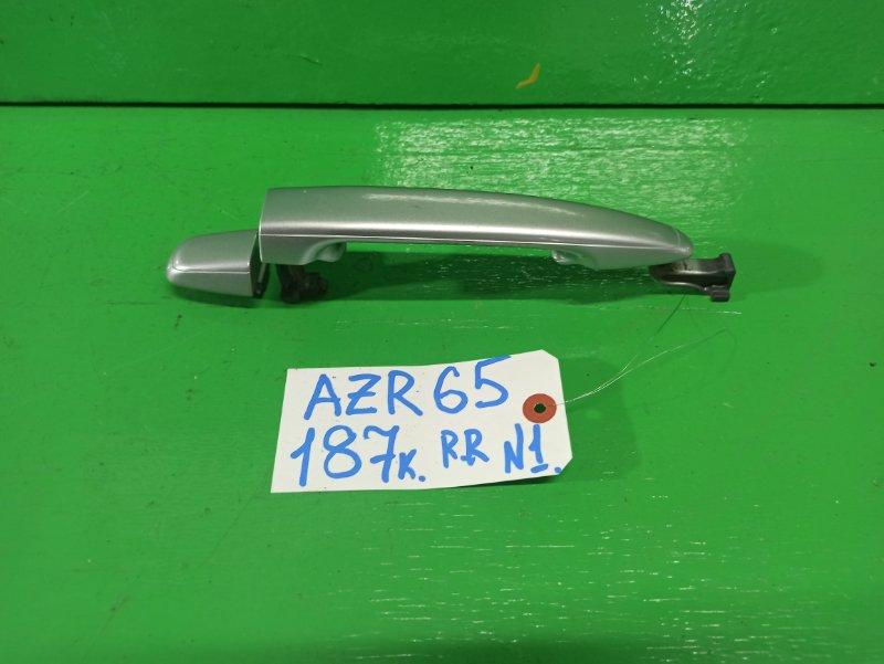 Ручка двери внешняя Toyota Noah AZR65 задняя правая (б/у) №1